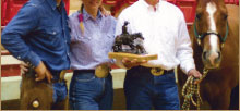 Photo of Rusty Jeffrey, Shelly Jeffrey, and Steve McKinney